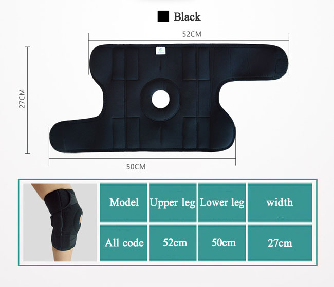 Knee Support Sleeve For Weightlifting And Fitness
